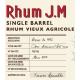 JM Rhum Vieux Sélection Bar 1802 Single Barrel 57,55° Martinique