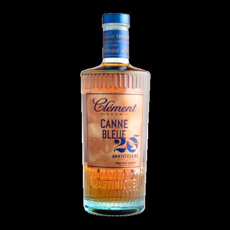 Clément Rhum Vieux Canne Bleue 2020 20ème Anniversaire 42°  Martinique