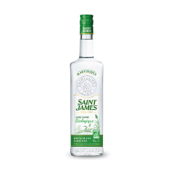 Saint James Rhum Blanc Imperial Bio 40° Martinique