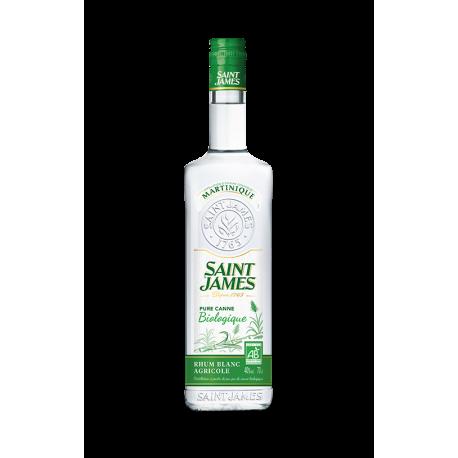 Saint James Rhum Blanc Imperial Bio 40° Martinique