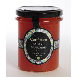 Fines Saveurs Des Iles Confiture Papaye Muscade 250 g