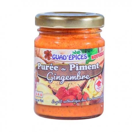Guadépices Purée de Piment Gingembre 90g