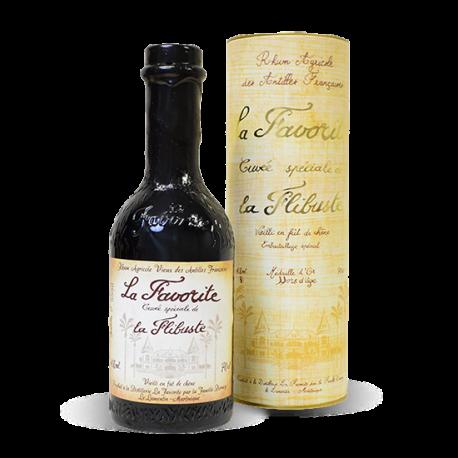 Favorite Rhum Vieux Cuvée de la Flibuste 1999 215 ans étui 40° Martinique