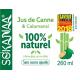 So'Kanaa Jus de Canne & Calamansi 260ml