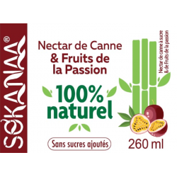 So'Kanaa Nectar de Canne & Fruit de la Passion 260ml