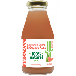 So'Kanaa Nectar de Canne & Goyave Rose 260ml
