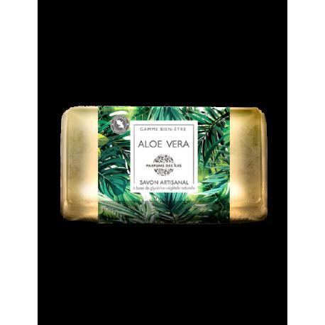 Parfums des îles savon à l'Aloe Vera 100g