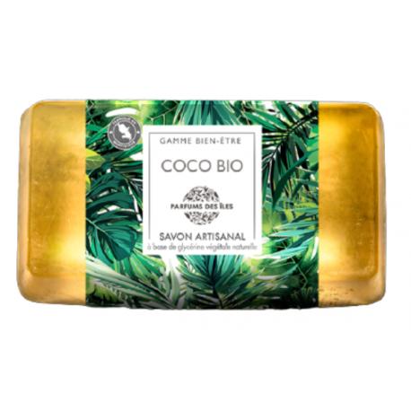Parfums des îles savon au coco bio 100g