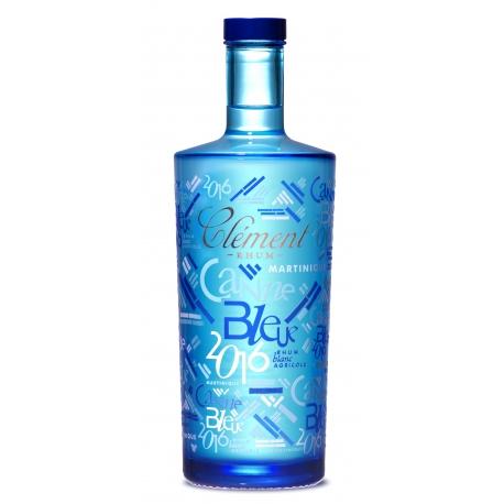 Clèment Rhum Blanc canne bleue 2016 50° 70 cl Martinique