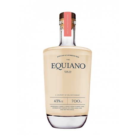 Equiano Rhum Blanc Light  43° 70cl  Ile Maurice - Jamaïque