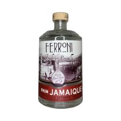 Ferroni Rhum Blanc la Dame Jeanne N° 9 Jamaïque 57° 70 cl