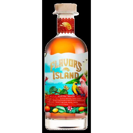 Flavors Island Agruma' Beach boisson spiritueuse à base de rhum 35°