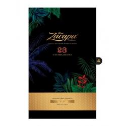 Zacapa Rhum Vieux 23 Solera coffret floral + 2 verres  40° 70 cl Guatemala