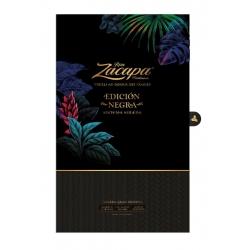Zacapa Rhum Vieux Edicion Negra Gran Reserva coffret floral + 2 verres  43° 70 cl Guatemala
