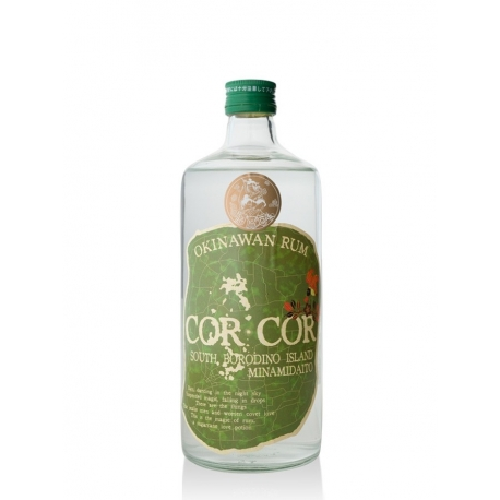 Cor cor green Rhum Blanc agric 40° 70 cl Japon