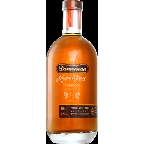 Damoiseau Rhum Vieux 10 ans 2001 vieilli fût bourbon 42° 70 cl Guadeloupe