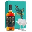Botran 15 Coffret avec 2 verres 40° Guatemala