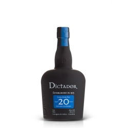 Dictador Rhum Vieux 20 ans 40° 70 cl Colombie