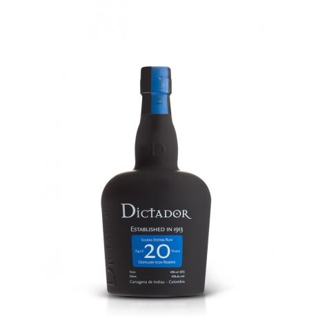 Dictador Rhum Vieux 20 40° 70 cl Colombie