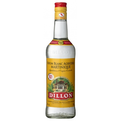 Dillon Rhum Blanc 50° 70 cl Martinique