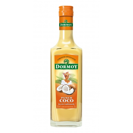 Dormoy Punch coco 18° 70 cl Martinique