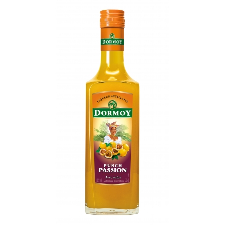 Dormoy Punch passion (maracudja) 18° 70 cl Martinique