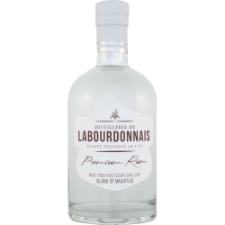 Labourdonnais Rhum Blanc premium 40° 70 cl Île Maurice