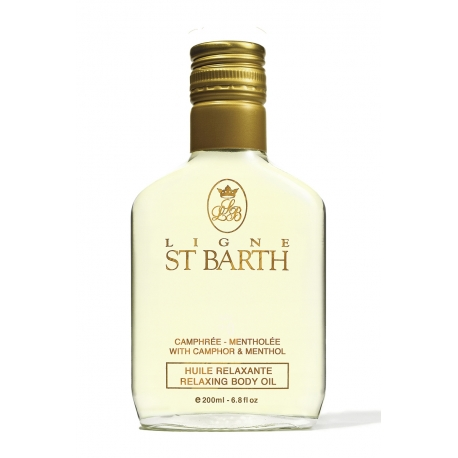 Ligne St Barth huile massage mentholée 200ml