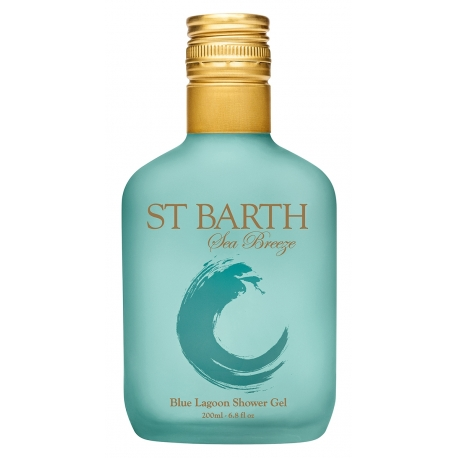Ligne St Barth sea breeze gel douche blue lagoon 200ml