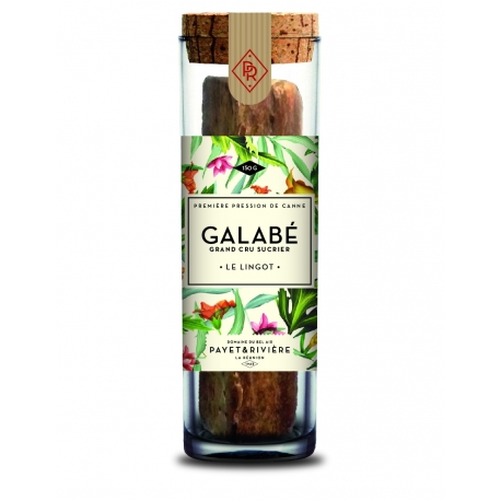Galabe sucre canne lingot 150 g