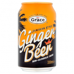 Grace ginger beer soda cannette 33 cl
