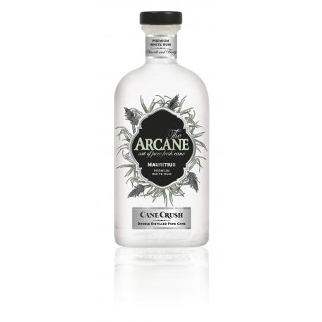 Arcane Rhum Blanc cane crush double distillation 43,8° 70 cl Île Maurice