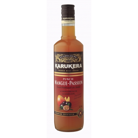 Karukera Punch mangue-passion 18° 70 cl Guadeloupe