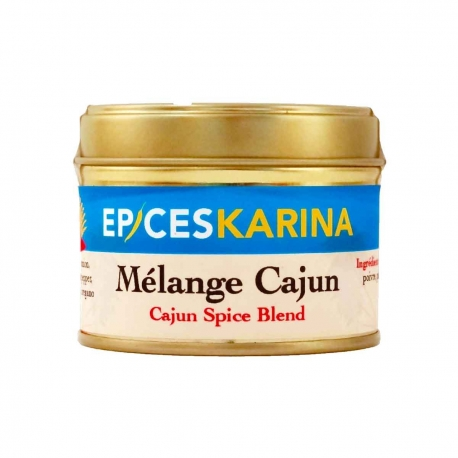 Épices Karina épices cajun louisiane pot 40 g