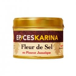 Épices Karina fleur de sel au piment Jamaïque pot 70 g
