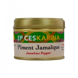 Épices Karina piment jamaique (bois d inde) baies pot 40 g