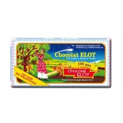 Elot tablette chocolat noir 100 g