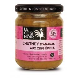 Coq noir chutney ananas 5 épices 200 g
