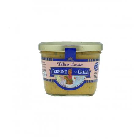 Délices Locales terrine de crabe 200 g