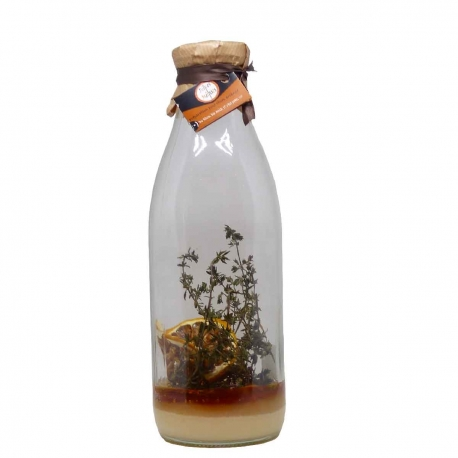 Délices métisses préparation pour Rhum arrangé miel-thym-citron pour  1L