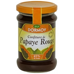 Dormoy confiture papaye rouge 325 g
