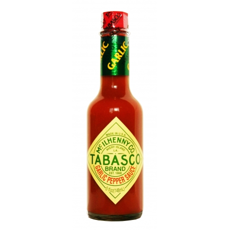 Tabasco ail et piment 148ml