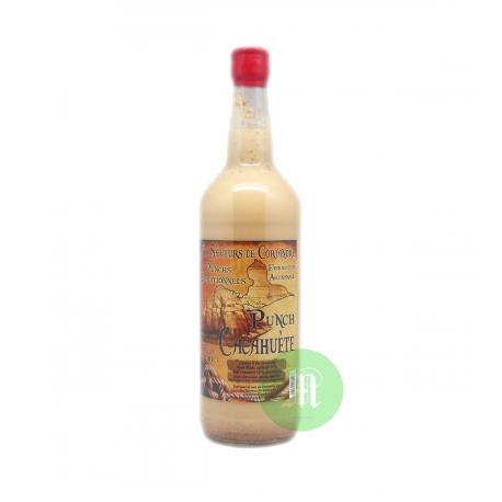 Saveurs de Coriandre Punch cacahuete 15° 1L Guadeloupe