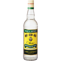 Wray & nephew Rhum Blanc over proof wop 63° 70 cl Jamaïque