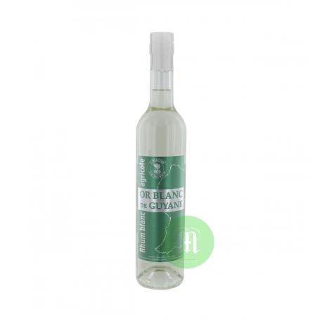 Or Blanc Rhum Blanc 50° 50 cl Guyane