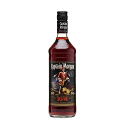 Captain morgan Rhum Vieux original black label 40° 70 cl Caraïbes
