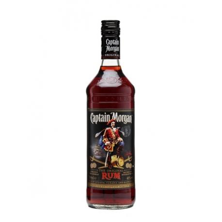 Captain morgan Rhum Vieux original black label 40° 70 cl Caraïbes