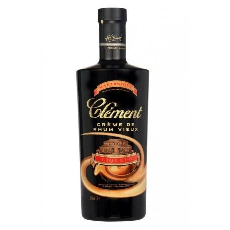 Clèment liqueur crème de Rhum Vieux authentique 18° 70 cl Martinique