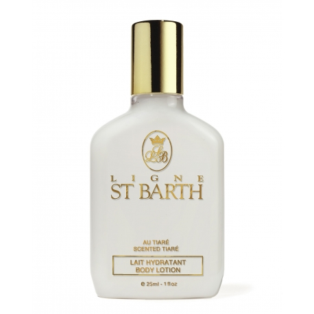 Ligne St Barth lait hydratant tiare 25ml