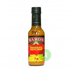 Baron banana ketchup 155 g Sainte Lucie